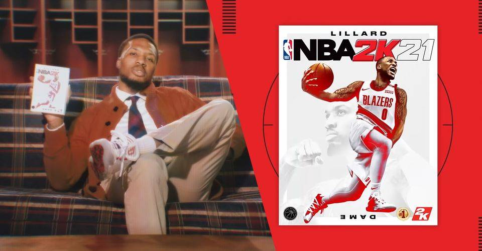 NBA 2K21 Unveils Damian Lillard As This Years Cover Art Player 02 1