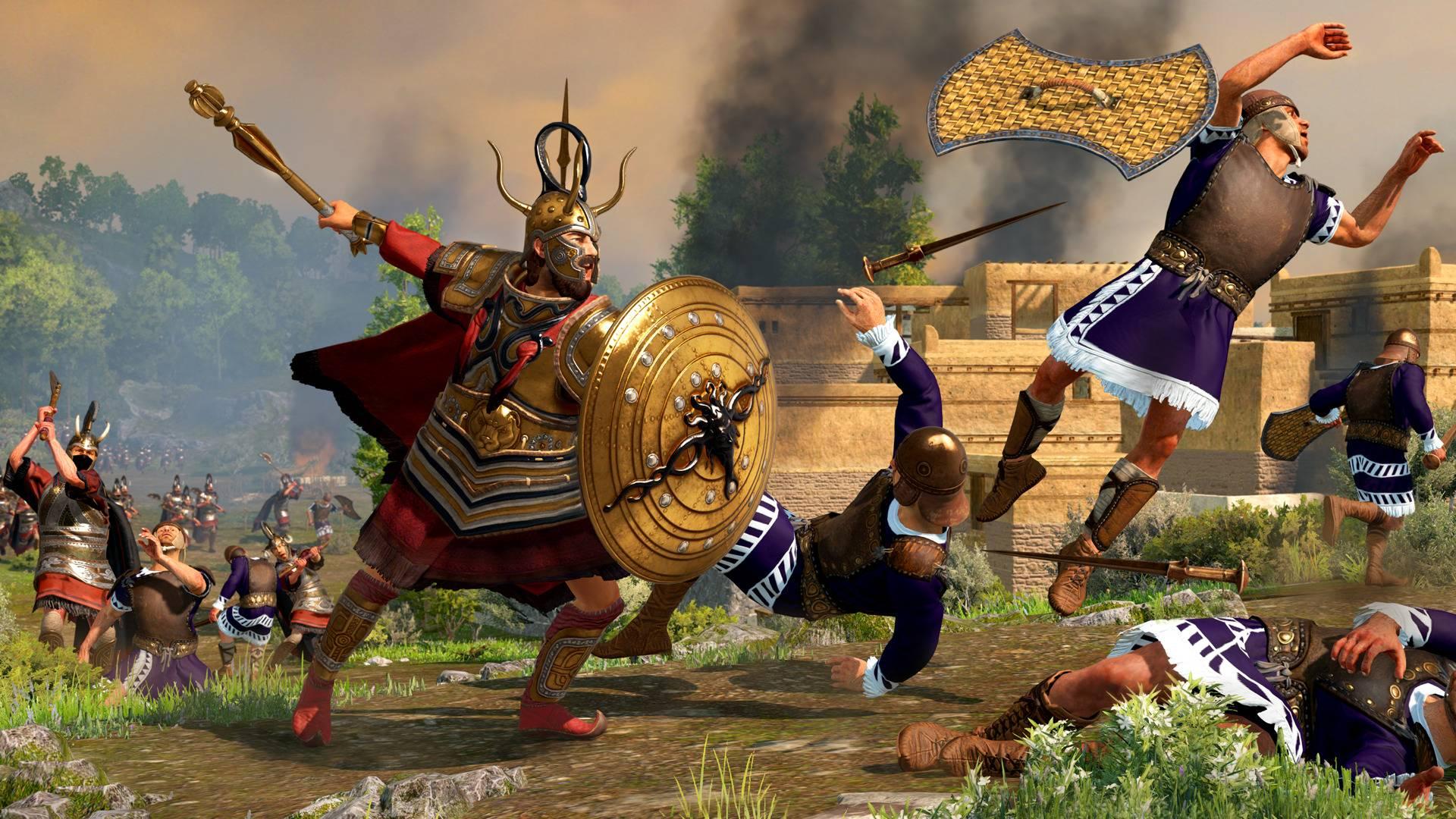 Total War Saga Troy Agamemnon guide King of Men Lions Share