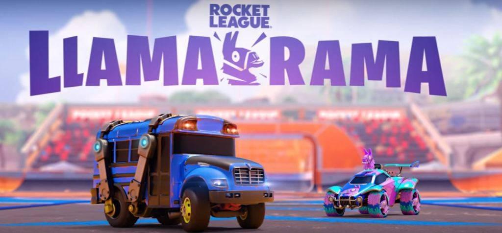 rocket league fortnite 1