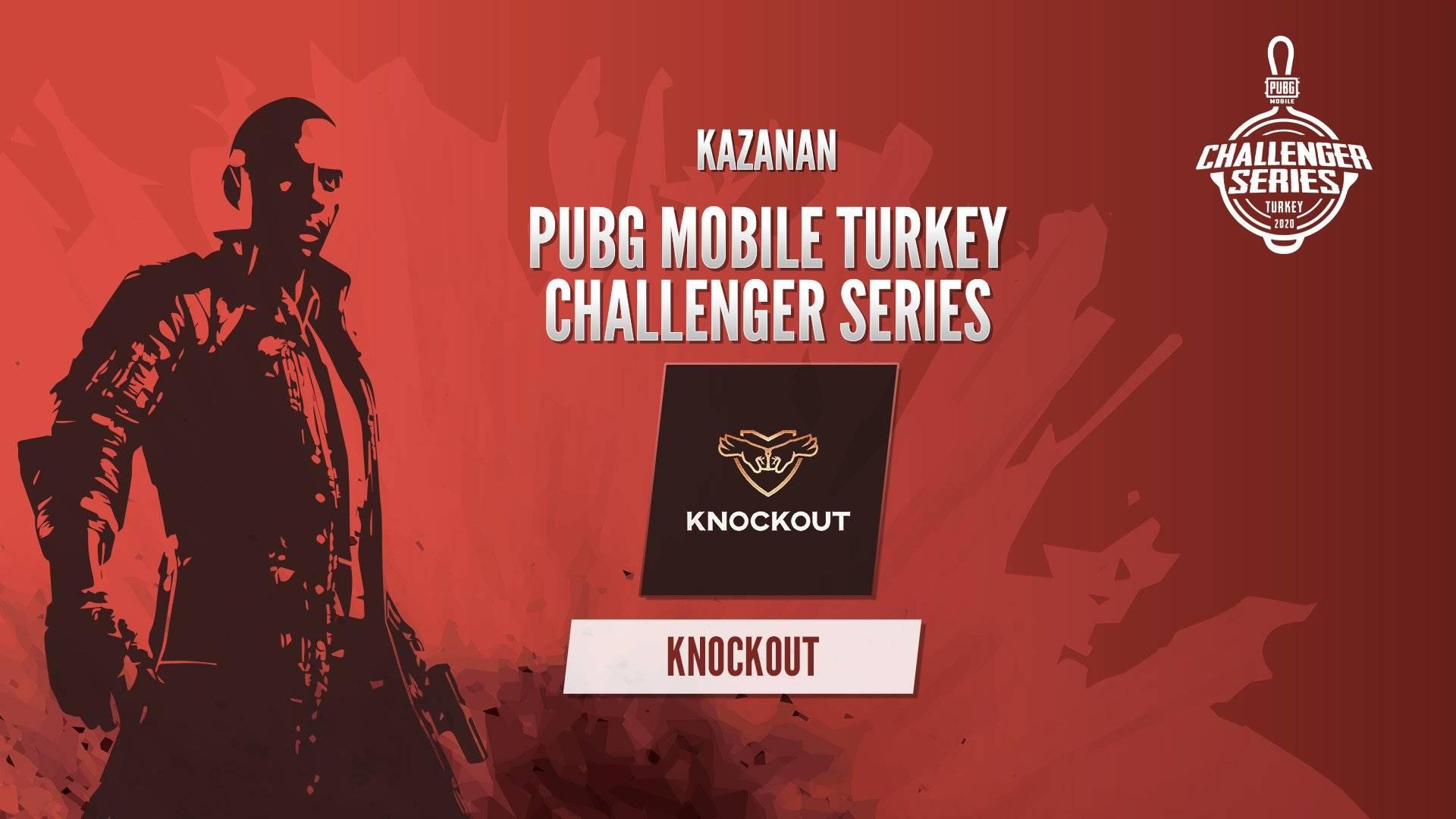 pubg mobile turkiye challenger series knockout