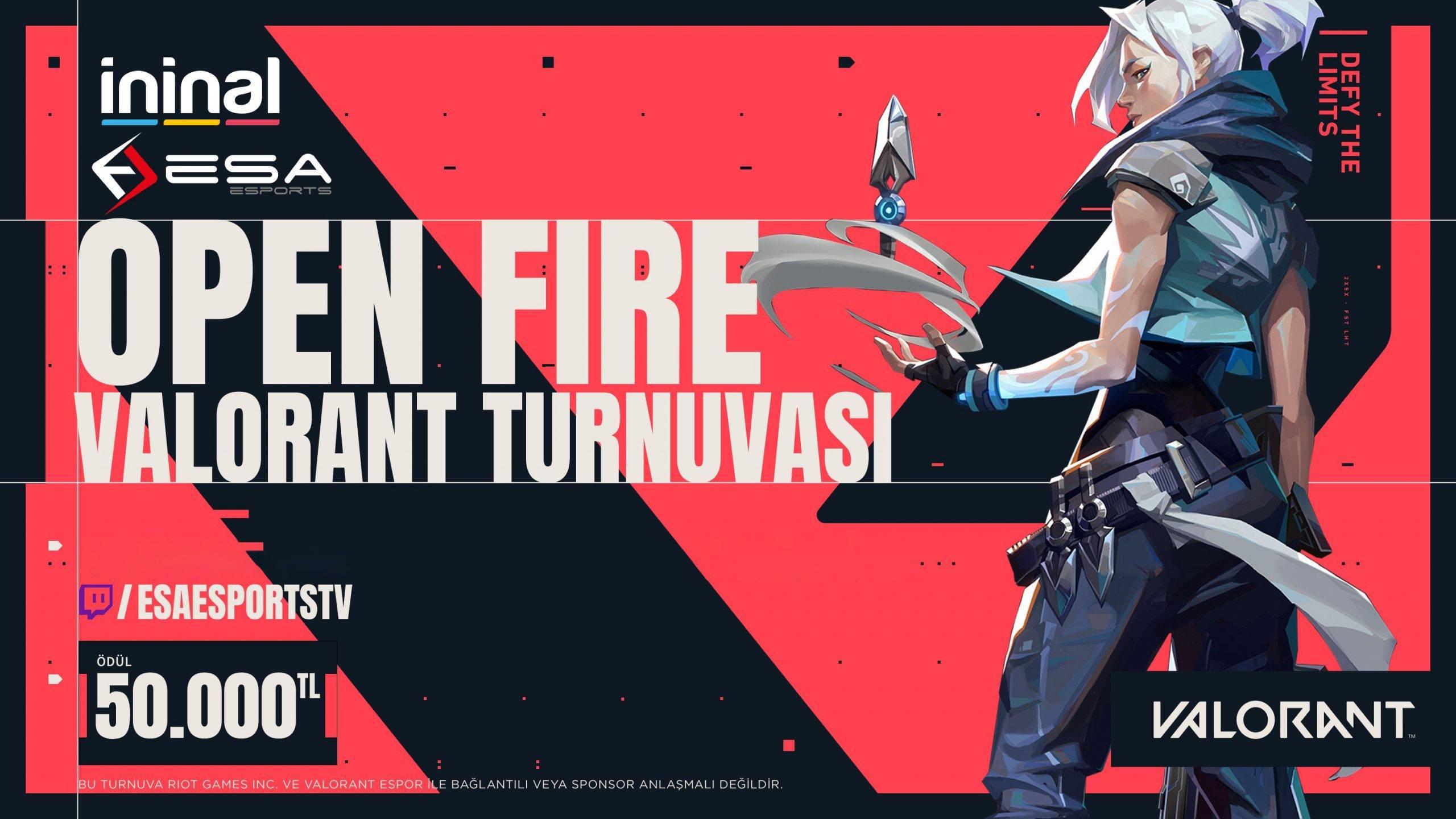 Open Fire Valorant