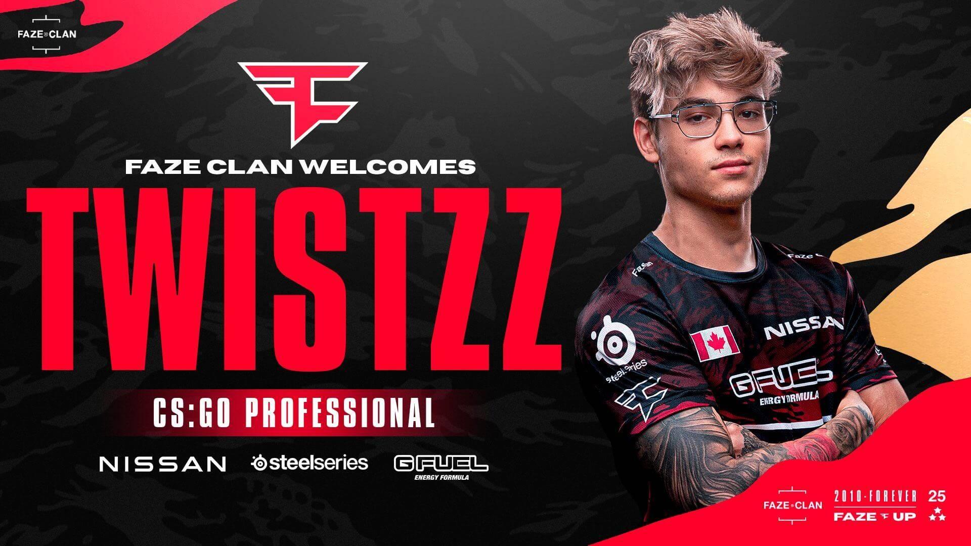 Twistzz Faze Clan'a Transfer Oldu