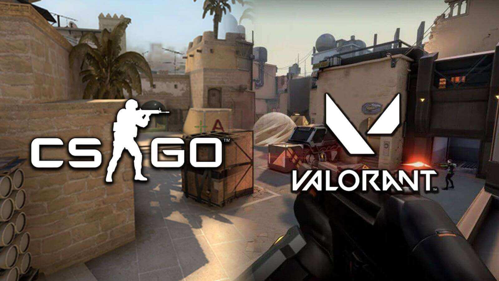 Valorant ve CS:GO Haritalarının Benzerlikleri
