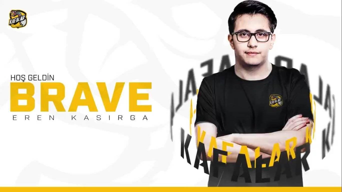 """Kafalar Esports Eren """"Brave"""" Kasırga'yı kadrosuna Kattı"""
