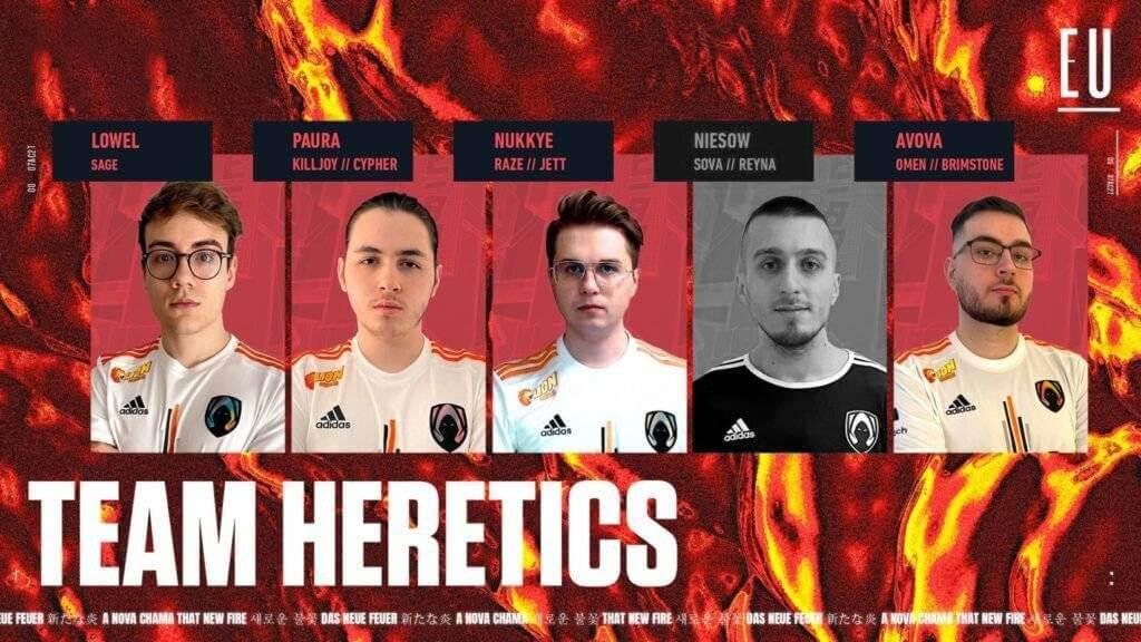 Team Heretics Valorant Takımından Ayrılık mı Gerçekleşiyor ?