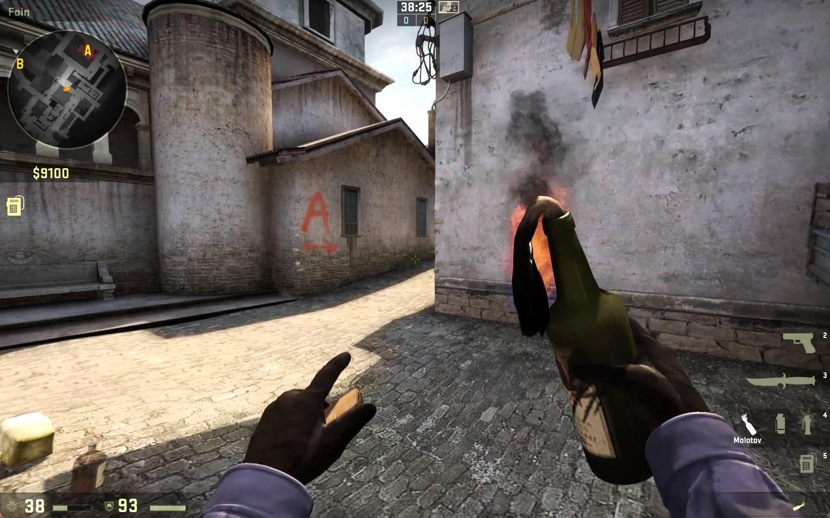 csgo weapon guide grenades molotov