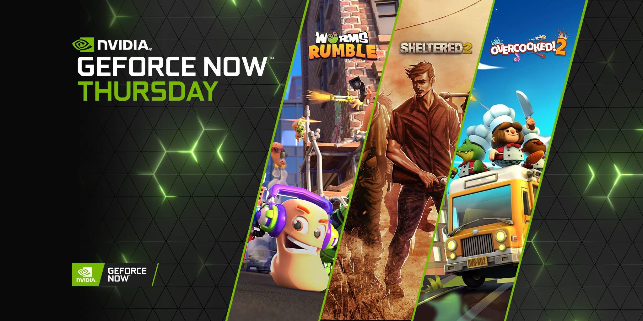 Diğer GeForce Now Perşembe